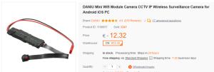 Banggood DANIU IP Wireless Camera
